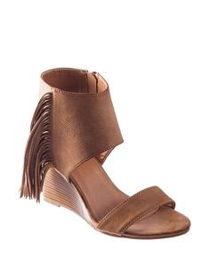 bec050190 Rampage Winnie Wedge Sandals