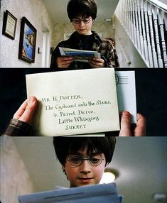Harry gets his letter to Hogwarts