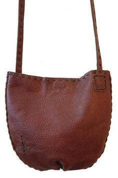 Cindy Kirk Pouch Plus Leather Cross Body Bag
