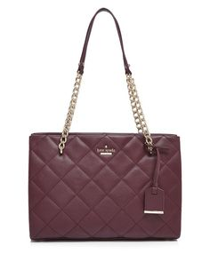 Kate Spade New York Tote - Emerson Place Small Phoebe in Burgundy