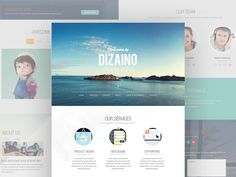 Dizaino is and elegant one page template design that can be used as a landing page, online portfolio for creative folks or even as a business theme. This design is unique, it's not quite the ordinary design that you might have seen somewhere else. Of course you can modify the designs to fit with your business. This freebie was made and released by Junoteam.