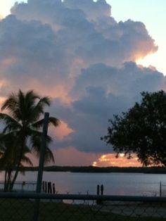 24 Nov Key Largo sunrise with waterspout