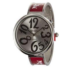 Alabama Crimson Tide Silver Tone Cuff Design Watch Platinum http://www.amazon.com/dp/B00HV4TK8Q/ref=cm_sw_r_pi_dp_re83tb0CVT7BVDJ3