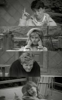 Jules et Jim. :) The more I revise this film, the more I like it! Can't believe I just said that... :P