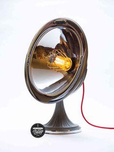 lampe radiateur calor vintage