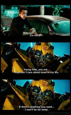 Transformers 2. Sam and Bee.