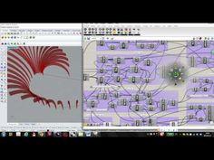Jiahe Bian parametric modeling - swoosh pavilion - YouTube