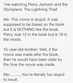 They completely and utterly mutilated the books and plot in those dumb movies!!