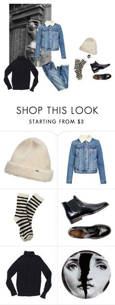 """""""such a pretty liar"""" by caroline11800 ❤ liked on Polyvore featuring Wood Wood, Levi's, Isabel Marant, Fornasetti and J.Crew"""