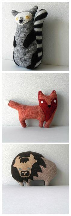 our pieces for the Plush You! show @Schmancy Toys  #plushyou