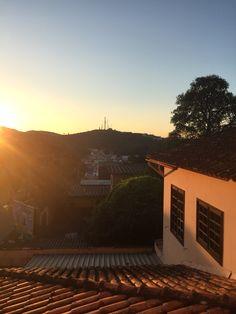 Entardecer nas montanhas de Minas Gerais - São João Del Rei/MG