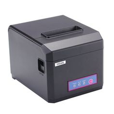 Hoin High-speed & POS Dot Receipt Paper Barcode Thermal Printer USB+Bluetooth & for Supermarket Store Bank Restaurant Bar Patterned Paint Rollers, Cheapest Printer, Thermal Printer, Kitchen Prints, Cash Register, Pos
