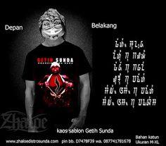 Kaos Sunda Getih Sunda