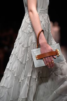 Detail at Valentino's Spring 2015 runway show
