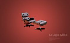 Design Chair Collection (free desktop wallpapers) by David Vineïs, via Behance