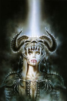 """Kiss of the Fog"" from Malefic by Luis Royo"