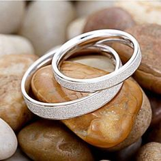 Sanded Smooth Simple Style 925 Sterling Silver Couple Rings (Price For a Pair) - EverMarker Wedding Ring Finger, Wedding Rings, Silver Bracelets, Silver Jewelry, Silver Earrings, Bangle Bracelets, Bracelet Charms, Gold Jewellery, Diamond Jewelry