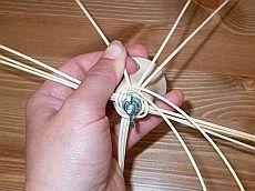 Obrazek Macrame, Diy And Crafts, Basket, Quilts, Tableware, How To Make, Hampers, Xmas, Manualidades