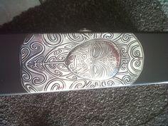 Maori designed pewter gift box