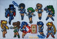 moon and earth perler - Google Search