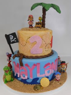 Jake and the Neverland Pirates @Kristen White probably already missed the opportunity for this cake with Elliot.