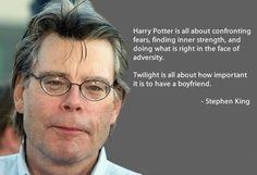 I love Stephen King