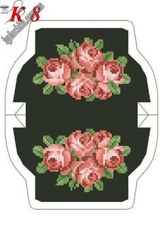 merry maniya Far's media analytics. Embroidery Fabric, Cross Stitch Embroidery, Cross Stitch Patterns, Cross Stitch Rose, Cross Stitch Flowers, Beaded Purses, Beaded Bags, Coin Purse Tutorial, Rosa Rose