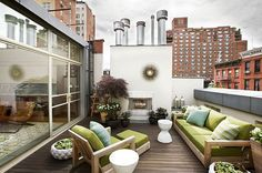 New York Roof Terrace. The dream.