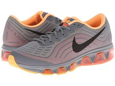 Nike Air Max Tailwind 6 Cool Grey/Bright Mango/Peach Cream/Black - 6pm.com