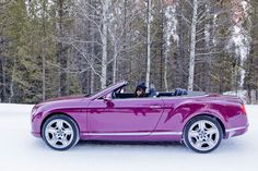 I want my car to be magenta like this car. It is so shinny it looks like the gel nails you get on your fingers.