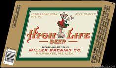 Miller High Life 40oz Retro Packaging
