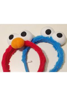 Brand new novelty headbands pretending to vintage on mendacious Etsy, and featured in staff curated Halloween browse!  Buy them on eBay direct from China:  http://www.ebay.com/itm/1-One-Size-TV-Show-Sesame-Street-Cookie-Monster-Elmo-Sparkle-Accessory-Headband-/191149256223?var=&hash=item2c81622e1f