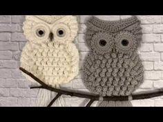 Detailed MK owls for beginners Crochet Shoes Pattern, Crochet Motif Patterns, Baby Quilt Patterns, Owl Patterns, Macrame Patterns, Crochet Owl Pillows, Crochet Deer, Crochet Quilt, Love Crochet