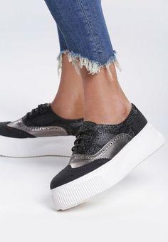 Pantofi Oxford Lierda Negri Lei, Slip On, Shoes, Fashion, Zapatos, Moda, Shoes Outlet, Fashion Styles, Shoe