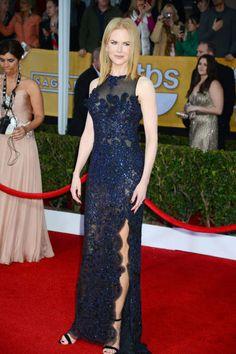 Nicole Kidman in sexy Vivienne Westwood (SAG Awards 2013)