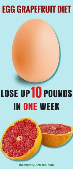 Lose Up To 10 Pounds In One Week With This Egg And Grapefruit Diet