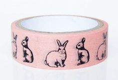bunny washy tape                                                                                                                                                                                 More