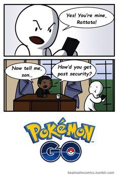 Pokemon Go  http://lolsalot.com/pokemon-go/  #Funny #Pic