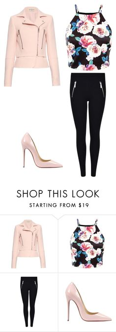 """""""outfit"""" by peace-girl23 on Polyvore featuring Balenciaga, Christian Louboutin, women's clothing, women's fashion, women, female, woman, misses and juniors"""