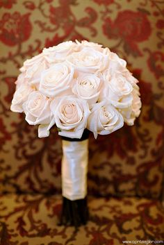 Keeping it simple like this bouquet created for bride Katie by Georgianne Vinicombe at Monday Morning Flower and , via Flickr