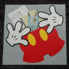 Disney Scrapbook Page Layout - Disney Cruise Document Holder by Julie of a Beautiful Day