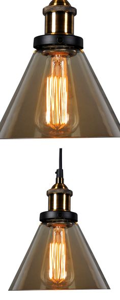 Suspended from a black cord, the amber glass of our Sepia Pendant Lamp adds a warm filter to home bars, desks, kitchen islands, and work spaces in between. Group the pendant in threes to create a focal...  Find the Sepia Pendant Lamp, as seen in the The Pioneer of Modern Art Collection at http://dotandbo.com/collections/the-pioneer-of-modern-art?utm_source=pinterest&utm_medium=organic&db_sku=117578