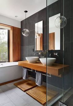 Designing a stylish bathroom is always a challenge, especially if you have a limited space. However, there are some ideas and guidelines that will help you to make your bathroom look and feel gorgeous that you want to spend more time in it. If you think your bathroom is boring and you're considering remodeling it then this list of design ideas will inspire you. Just remember the first rule to have a perfect bathroom is to keep it simple and only select the ideas that fit your space. Tap the…