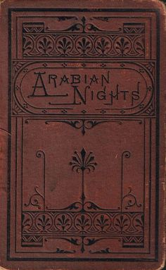 Arabian Nights. Beautiful old binding.