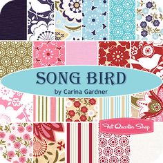 Song Bird Rolie Polie Carina Gardner for Riley Blake Designs - Fat Quarter Shop