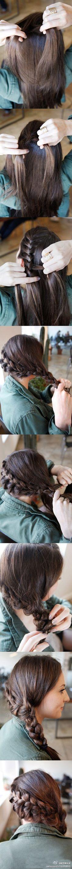 Lace Side Braid TutOrial