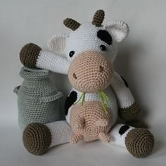 Klaartje Cow By Christel Krukkert - Purchased Crochet Pattern - (ravelry)