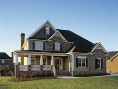 Home Plans HOMEPW10766 - 2,443 Square Feet, 4 Bedroom 2 Bathroom Country Home with 2 Garage Bays