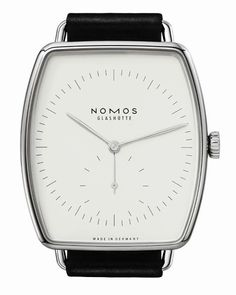 Lux white gold - Unusually fine, strikingly beautiful: Lux Weißgold is perhaps the most audacious and eye-catching watch among the collection from NOMOS Glashütte. Lux Watches, Cool Watches, Watches For Men, Latest Watches, Fine Watches, Lux Series, Light Blue Sapphire, Gold Light, Beautiful Watches
