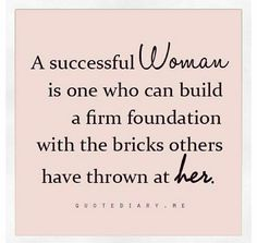A successful #Woman... #success #foundation